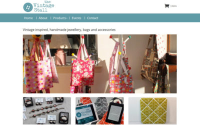 """New fully responsive CMS website launch for """"The Vintage Stall"""""""